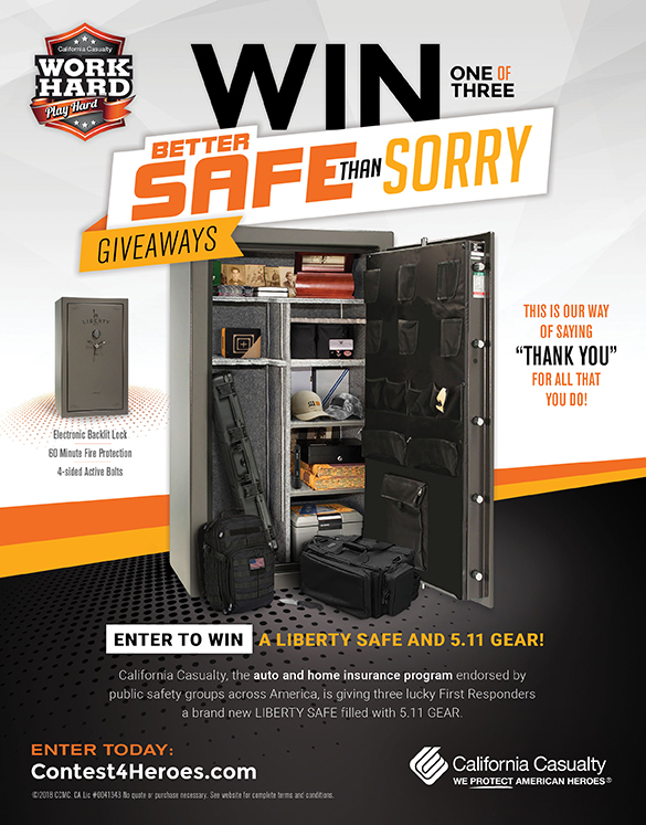 Liberty Safe Giveaway from California Casualty - Liberty