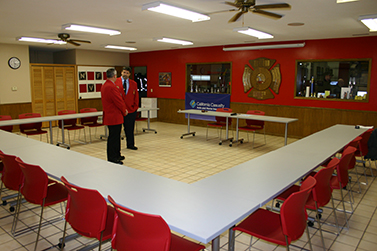 Firehouse Makeover for Northwood, Iowa by California Casualty