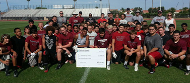 Ironwood High Football Team from Glendale Arizona