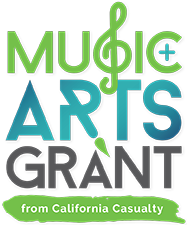 Mustic and Arts Grant from California Casulaty logo