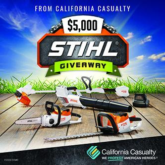 California Casualty's STIHL Giveaway