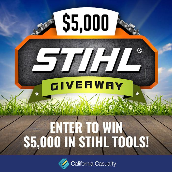 Enter to win 5,000 dollars in STIHL tools