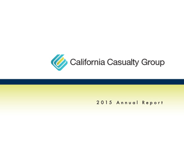 California Casualty 2015 Annual Report