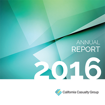 California Casualty 2016 Annual Report