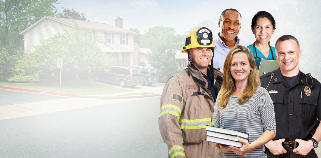 Insurance for Educators, Firefighters, Peace Officers, and Nurses