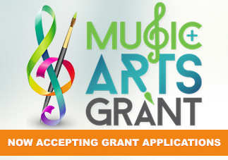 Apply today for the Music and Arts Grant